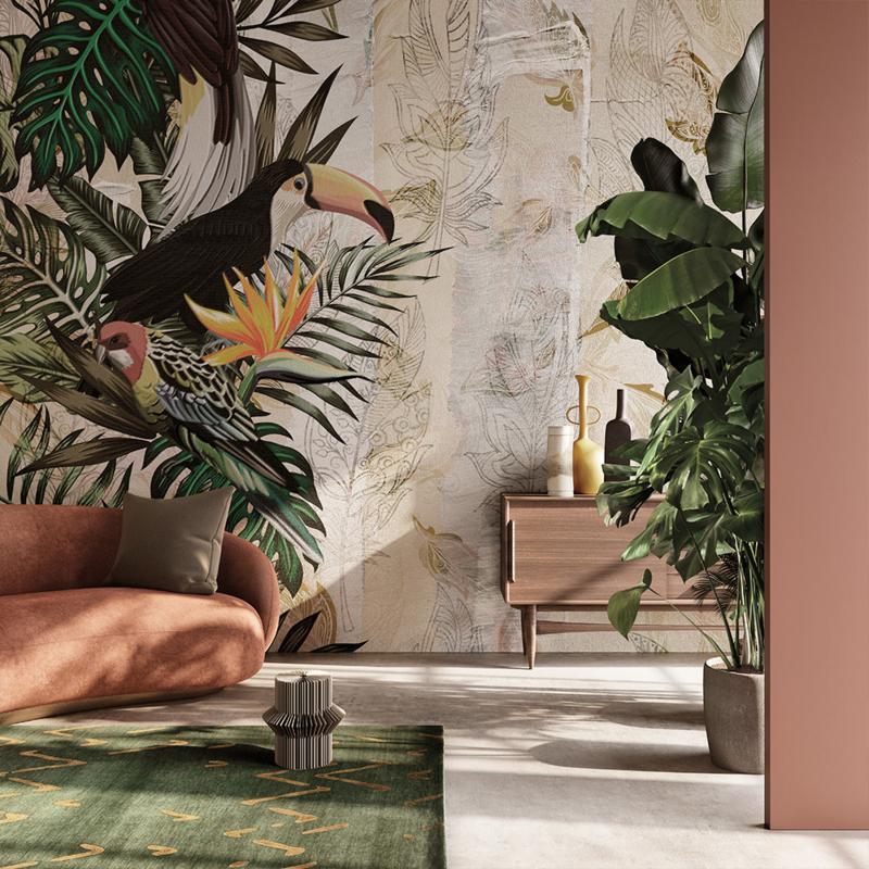 gio pagani svela la nuova collezione. Inkiostro Bianco Iquitos Design Wallpaper