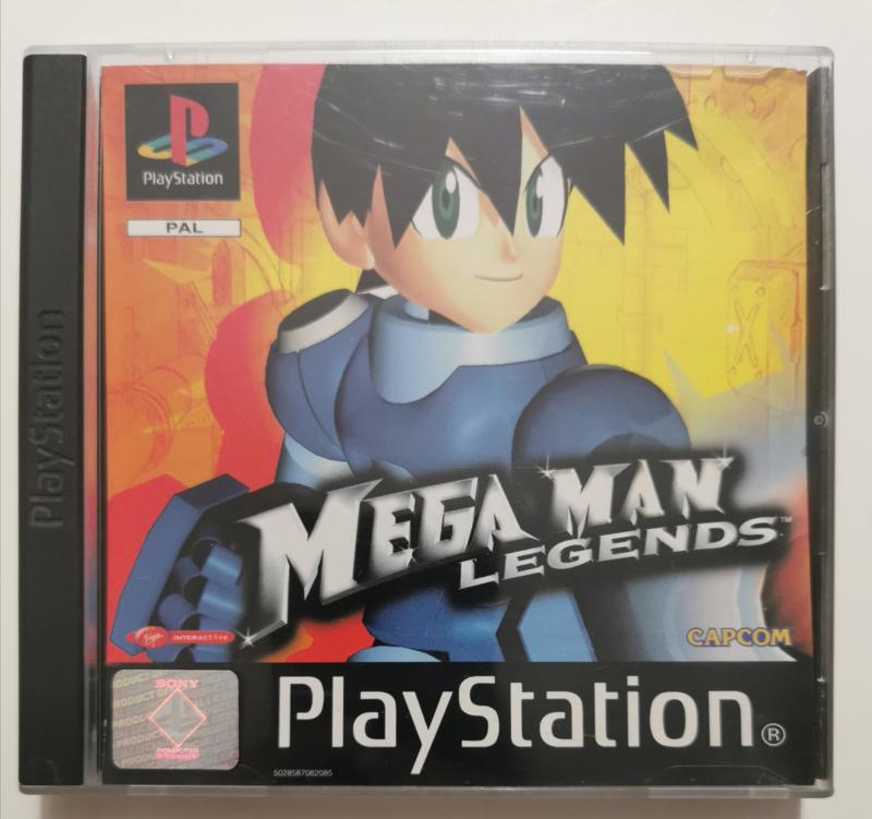 games mega man legends ps1 rare