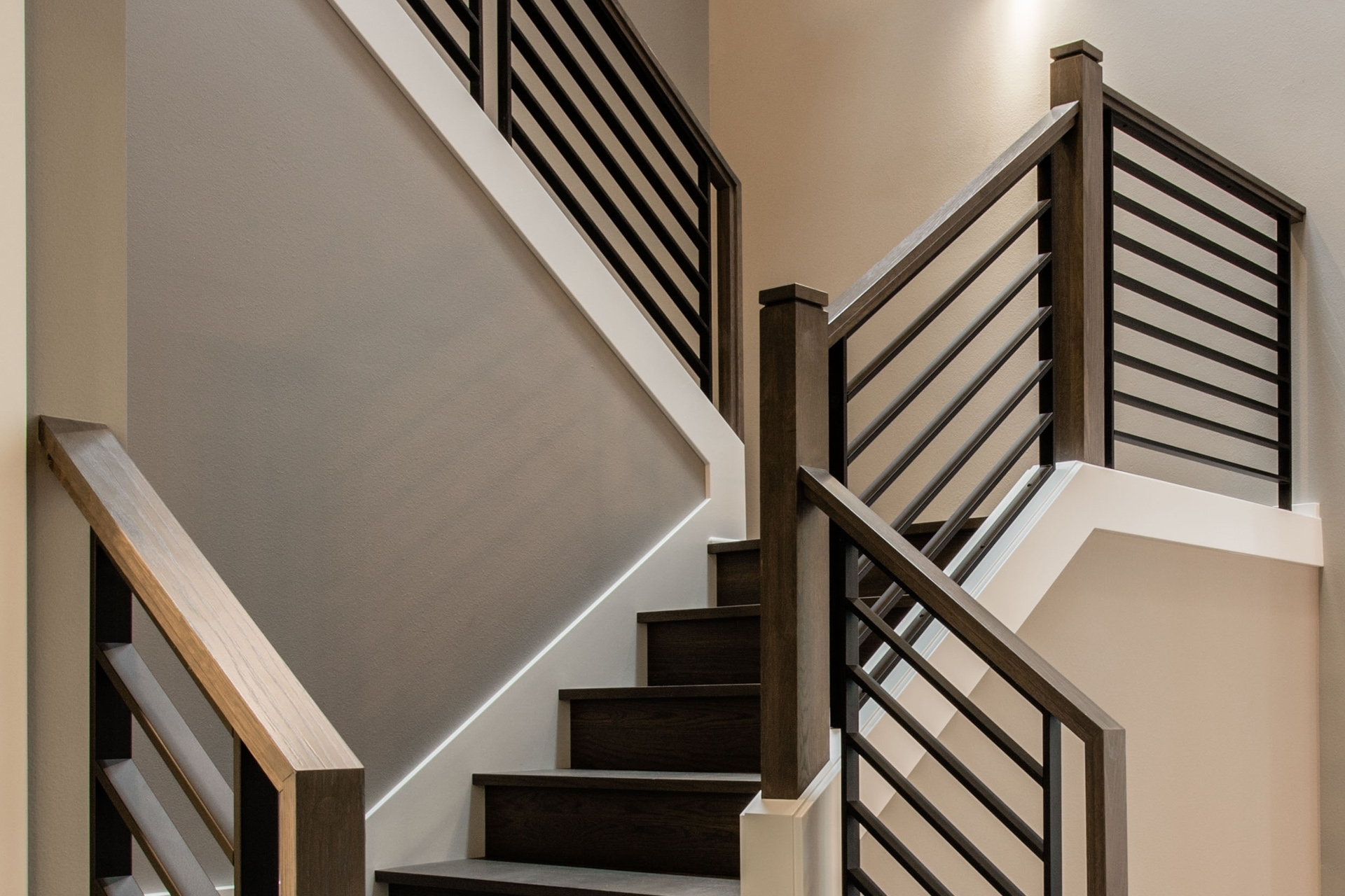 Stair Systems Stairs Stair Parts Newels Balusters And | Stair Railing And Balusters | Brushed Nickel | Free Standing | Inexpensive | Deck | Wood
