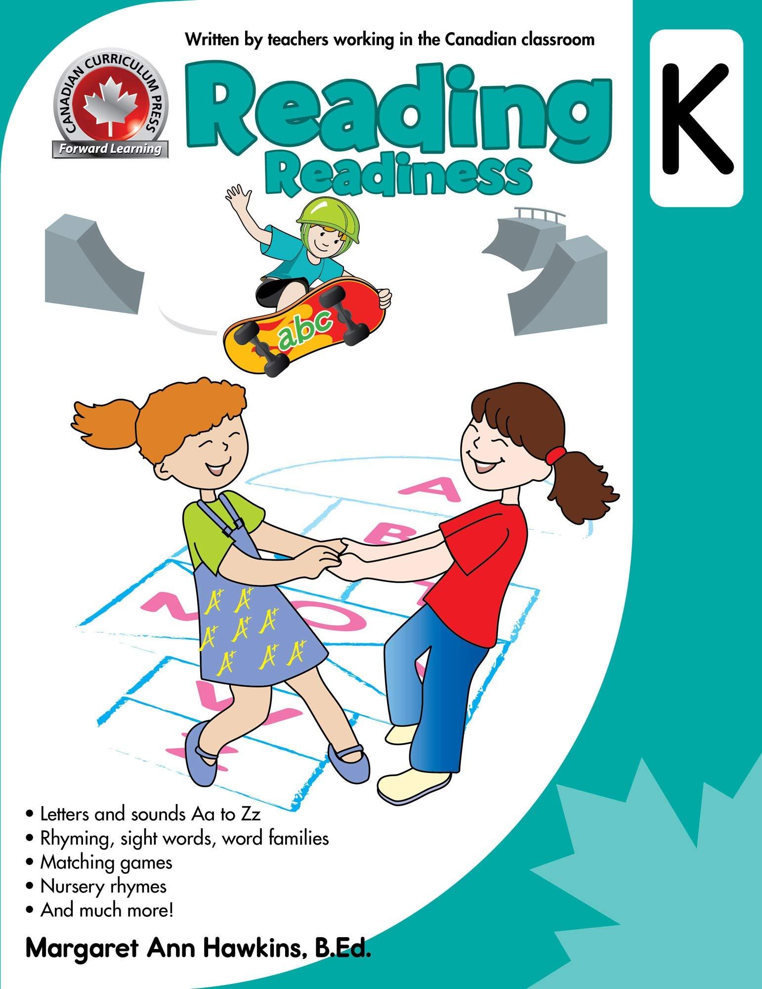 Reading Readiness Kindergarten Workbook
