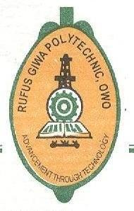 Rufus Giwa Polytechnic admission list
