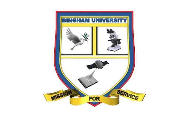 Bingham University Post UTME form