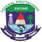 Federal Polytechnic Ekowe ND/HND admission form