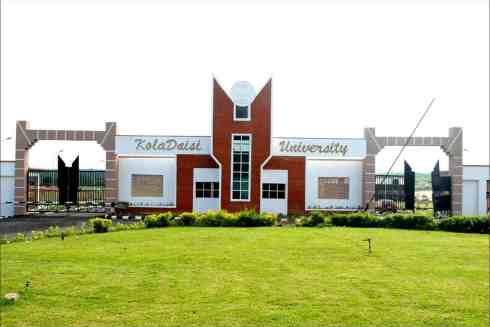 KolaDaisi University (KDU) Admission Into Faculty of Law