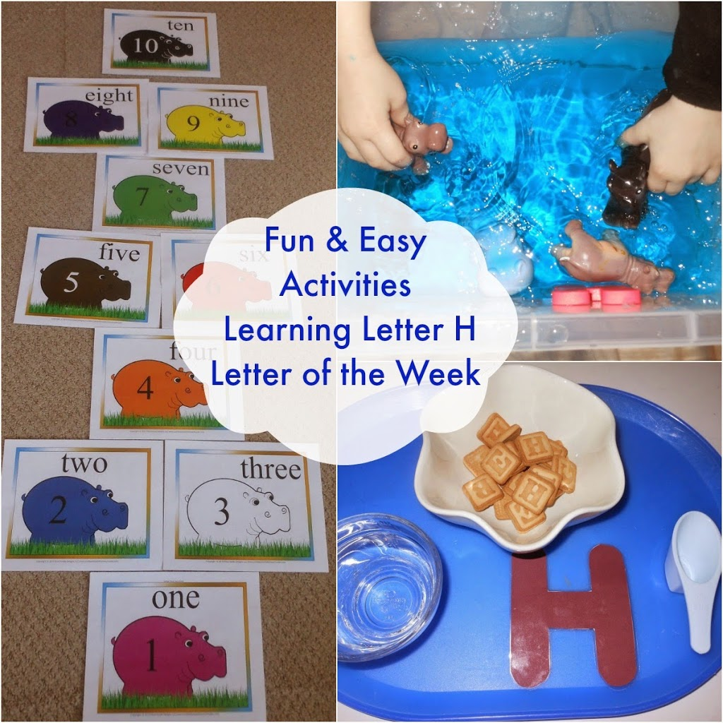 Tot Time Preschool Letter H Alphabet Activities
