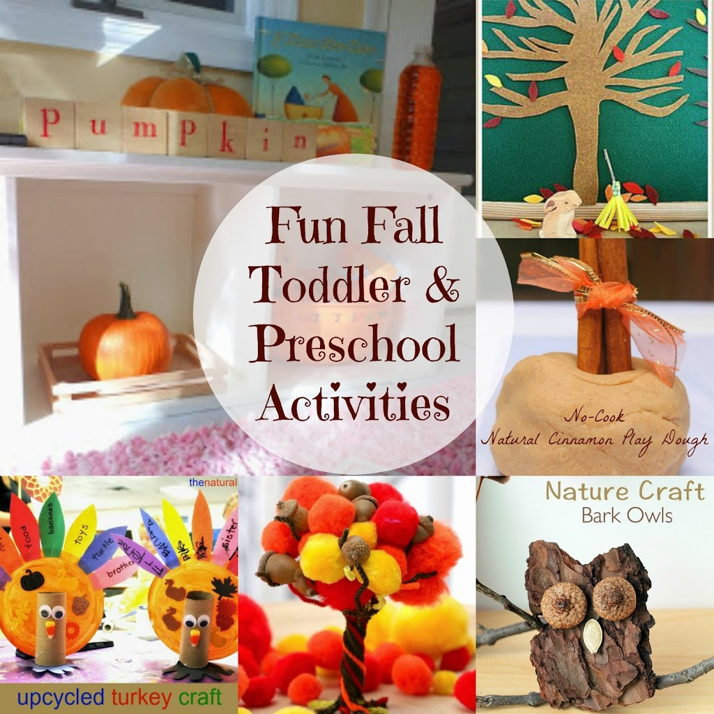 30 Fall Preschool Activities And Free Printables