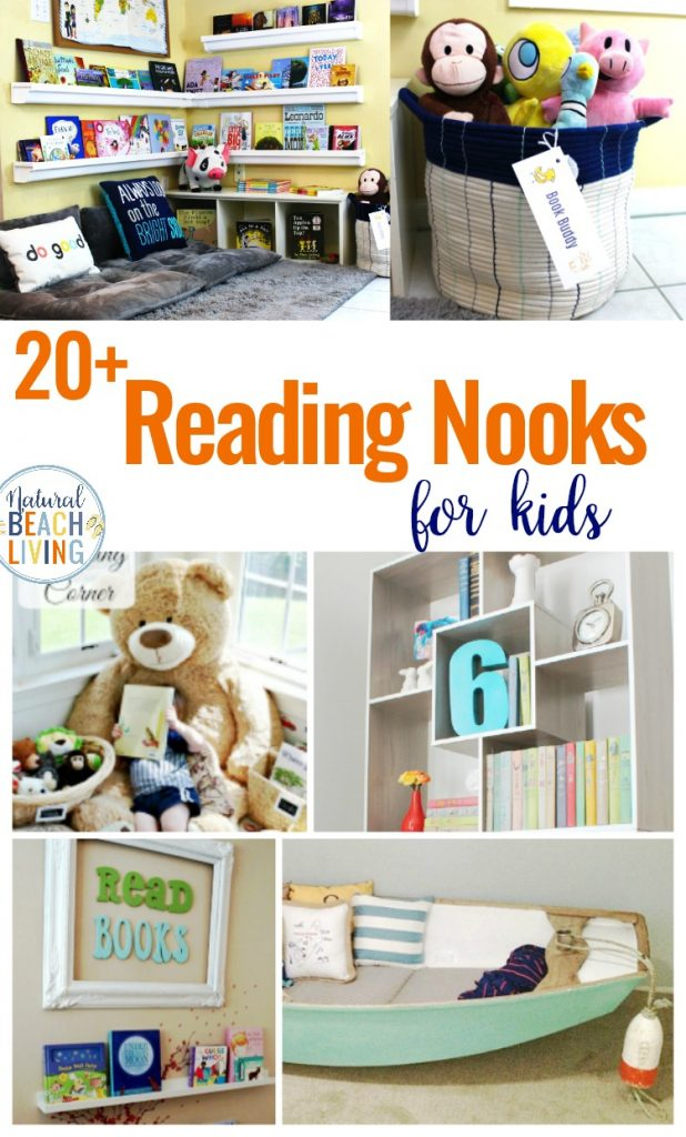 20 Kids Reading Nook Ideas That Everyone Will Love Natural Beach Living