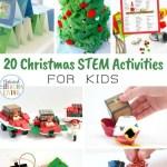 25 Christmas Stem Activities For Kids Natural Beach Living