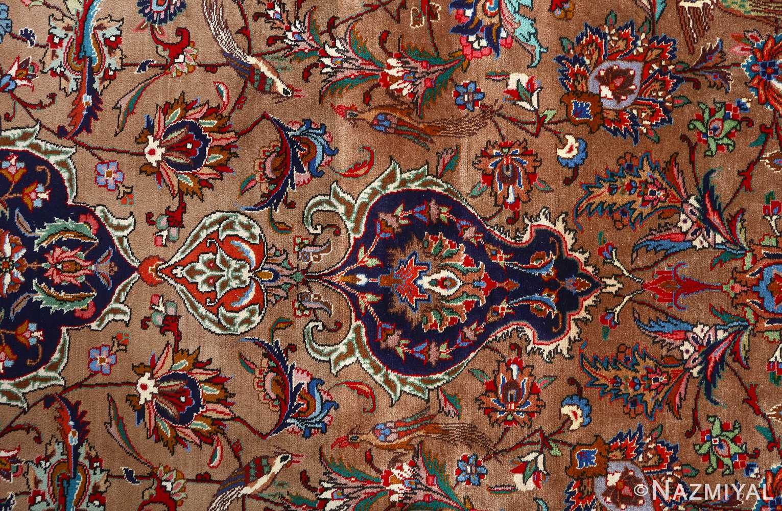 Fine Large Vintage Tabriz Persian Rug 51040