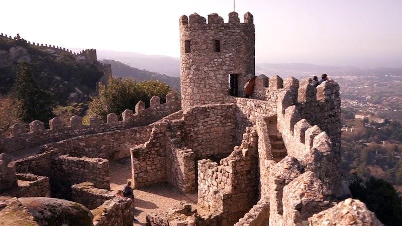 Castillo morisco Portugal Nazmiyal