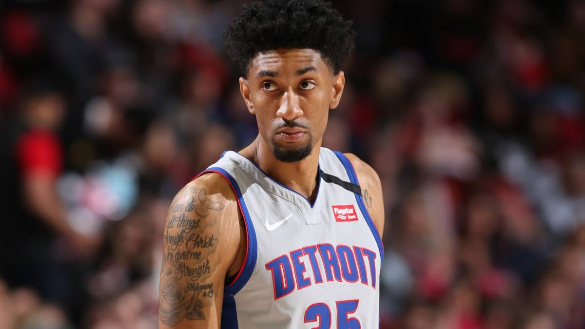 Report: Pistons' Christian Wood showing signs of full recovery | NBA.com