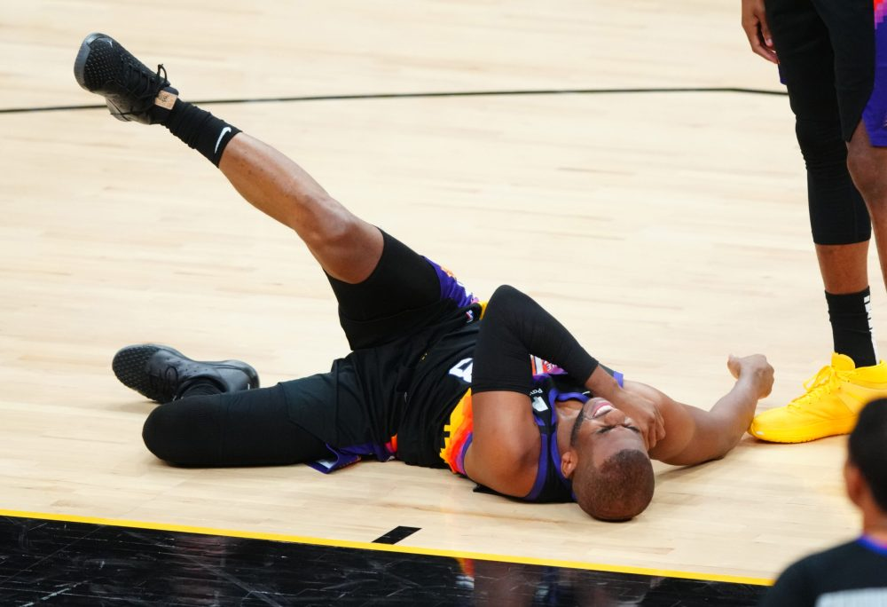 Another postseason, another injury for Chris Paul   NBA.com