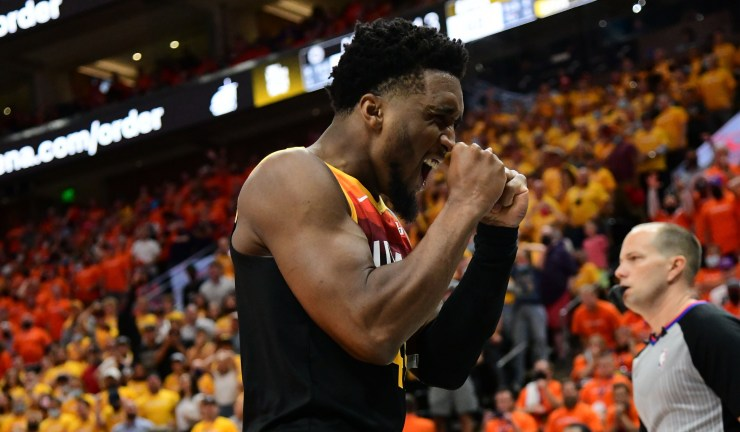 Donovan Mitchell has big Game 1 against the Clippers
