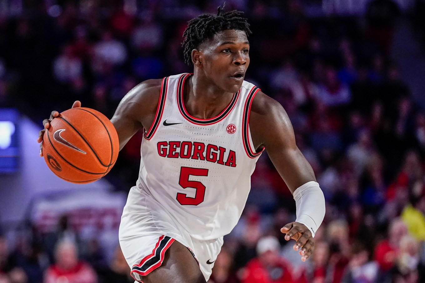 Georgia's Anthony Edwards armed with NBA athleticism, NBA strength ...