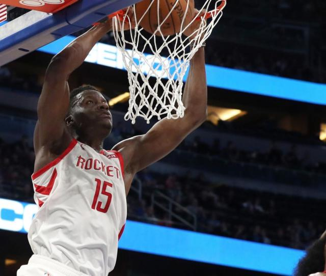 Reports Rockets Capela To Miss 4 6 Weeks With Thumb Injury