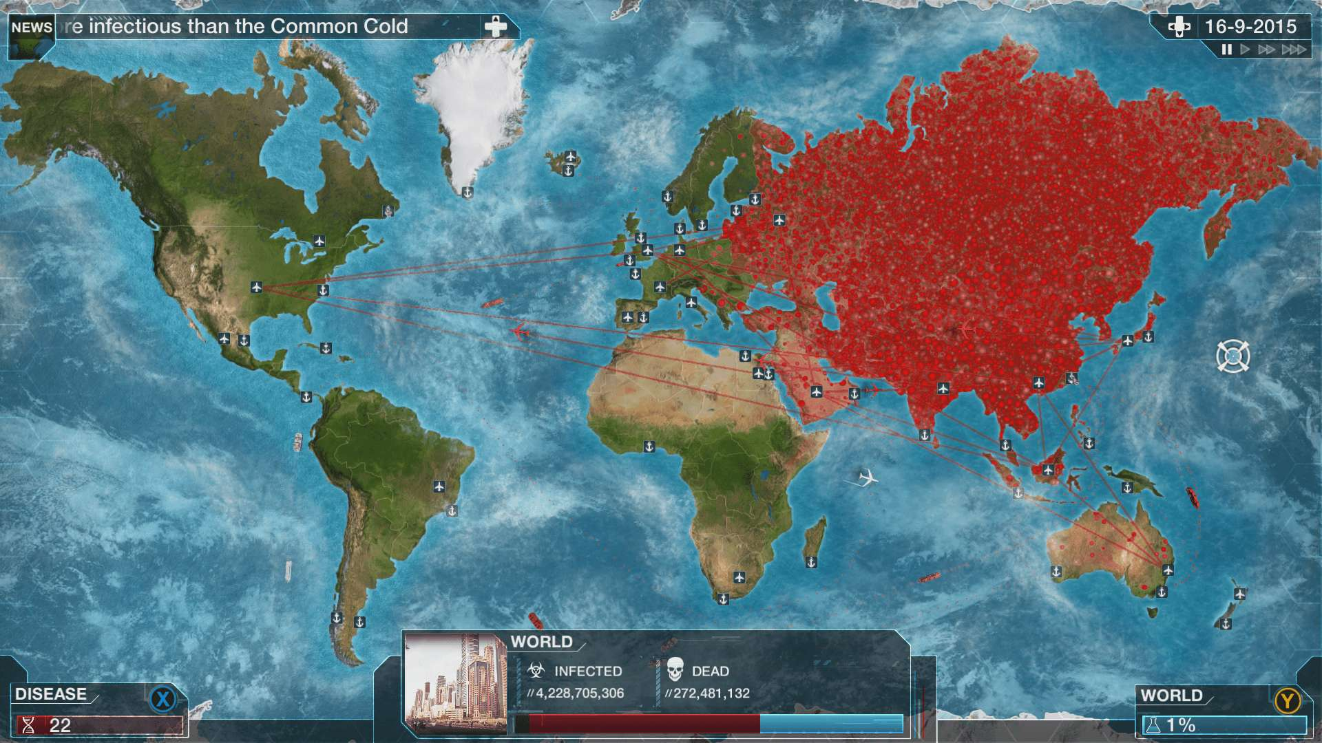 Plague Inc Evolved Infects Over 25000 Players On Xbox