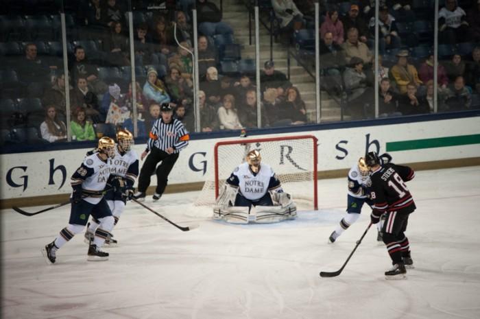 20131130-20131130, Allison D'Ambrosia, chapionship game, Hockey, Home, sheleligh tournament, vs Northeastern