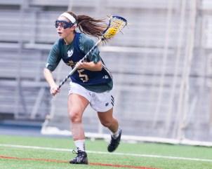 Women's Lacrosse rolls through Michigan, Cincinnati, By Zachary Llorens