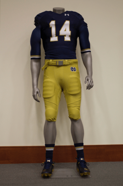 super popular 33cd2 53468 Notre Dame releases home and away uniforms // The Observer