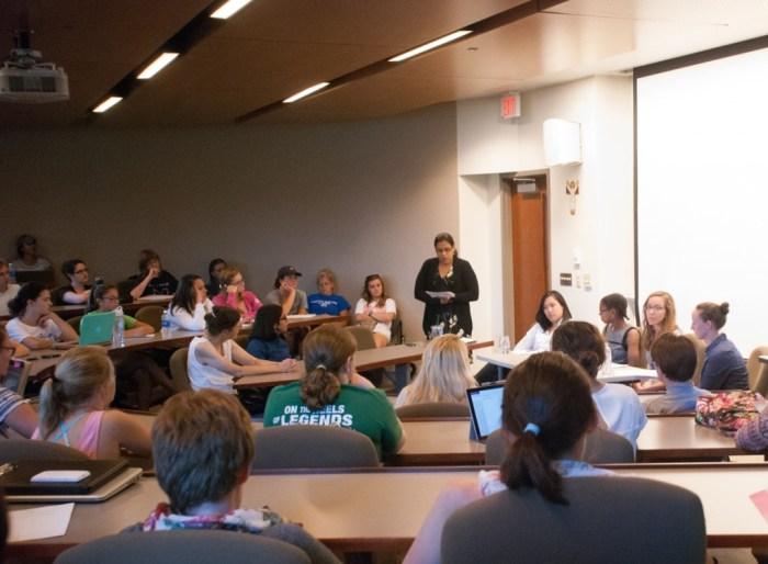 20060926, 20140902, Christina Russo, SMC Ferguson Lecture and Greenhouse
