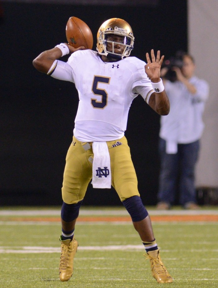 #5 20140927, 2014-2015, 09272014, Football, Golson, Kevin Song, MetLife Stadium, vs Syracuse-2