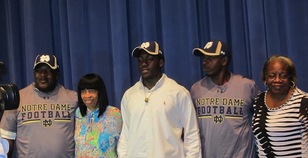 Class of 2015 linebacker Tevon Coney committed to Notre Dame on Oct. 23 in Florida, becoming the 21st commitment in the Irish class.