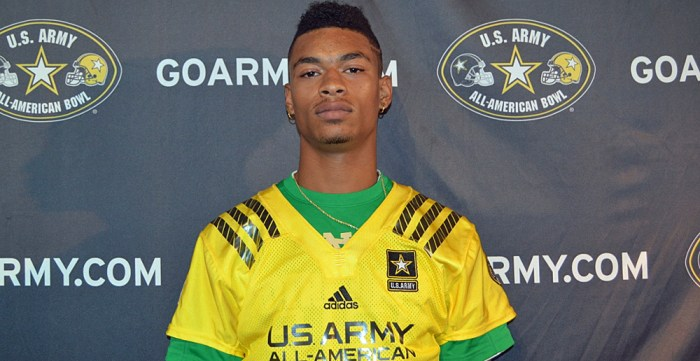 Class of 2015 defensive back and receiver Ykili Ross is scheduled to take an official visit to campus this weekend, according to Irish recruiting analyst Tom Loy.