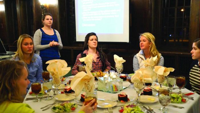 hunger banquet by caitlyn jordan