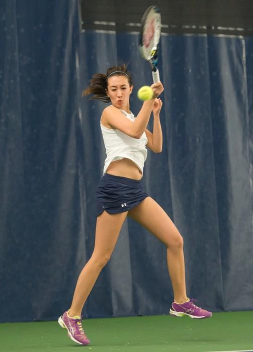 20150206, 2014-2015, 20150206, Eck Tennis Center, Michael Yu, Stanford, Women's Tennis, WTennis