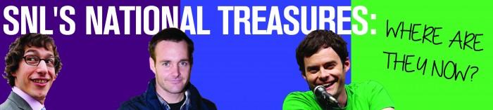 SNL national treasures WEB