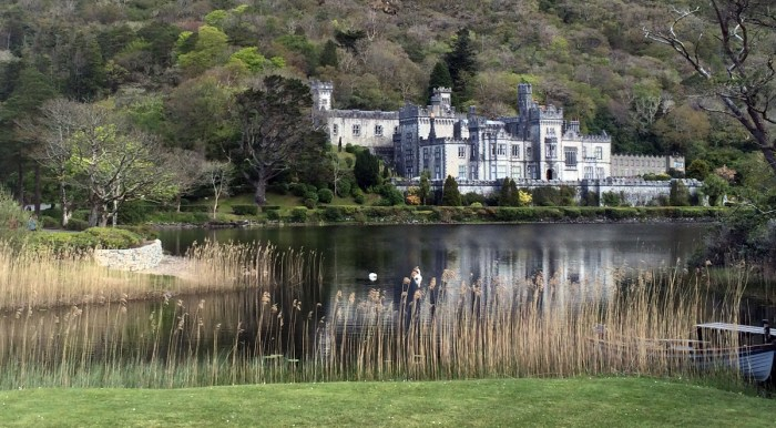 Students participating in a new summer study abroad program sponsored by the English department in Ireland will spend a week at Kylemore Abbey, pictured.