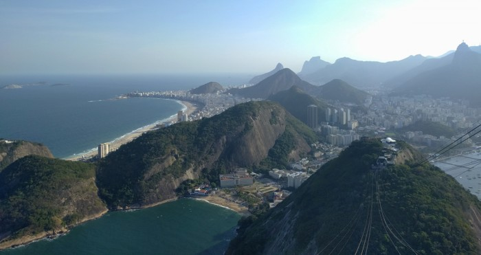 A view of the Rio de Janeiro landscape during the 2016 Summer Olympics. Notre Dame students took advantage of the opportunity to work, conduct research and watch world-class athletes at the Games.