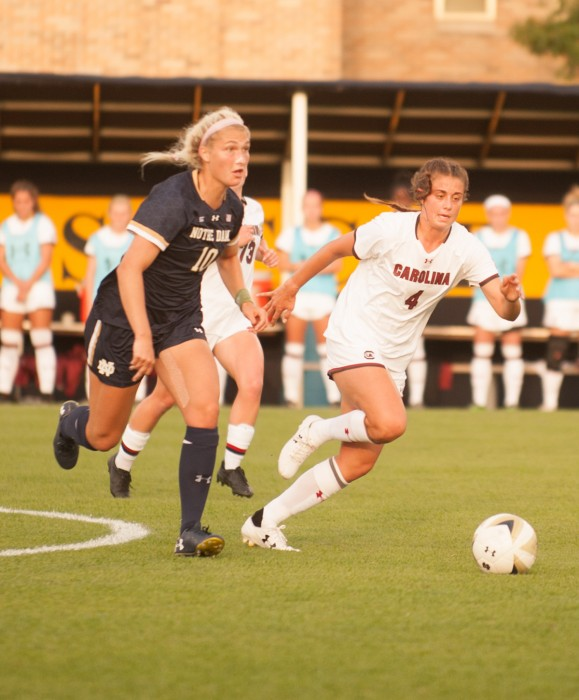 Late goal pushes No. 20 Wake Forest over No. 22 Notre Dame ...