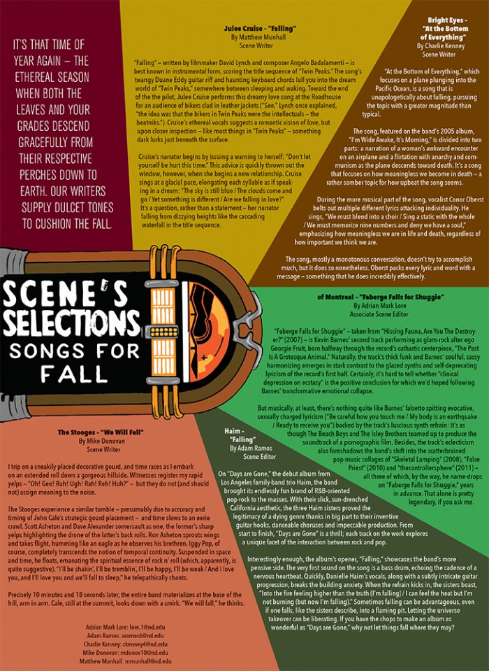 scene selections web