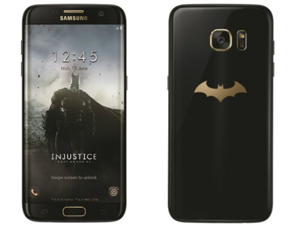 Batman-Inspired Samsung Galaxy S7 Edge Injustice Edition Launched
