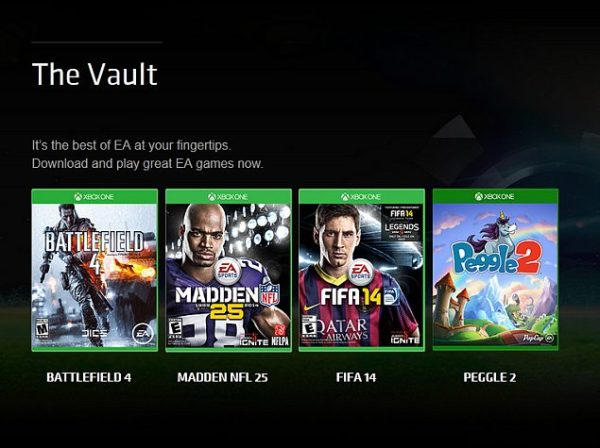 EA Access Subscription Now Available for All Xbox One ...