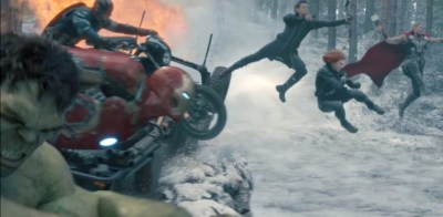 The gang are back together in Avengers: Age of Ultron