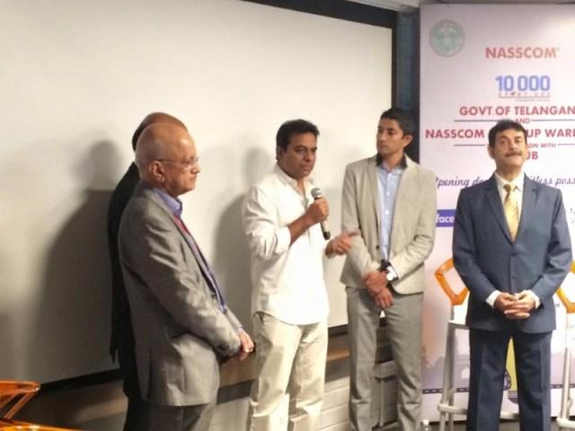 Nasscom Inaugurates T-Hub Startup Warehouse in Hyderabad