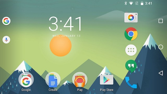 Google Now Launcher Update Brings Homescreen Landscape Mode and More