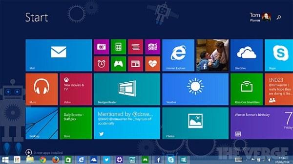 Windows 8.1 Update 1 build leaked by Microsoft, Windows ...