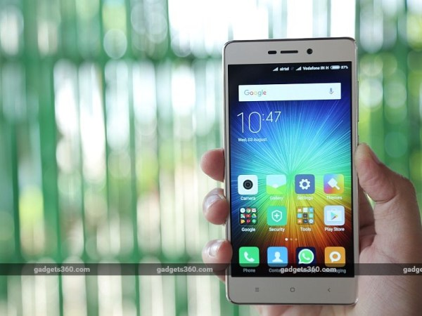 Xiaomi Redmi 3S With 4100mAh Battery Launched: Price ...