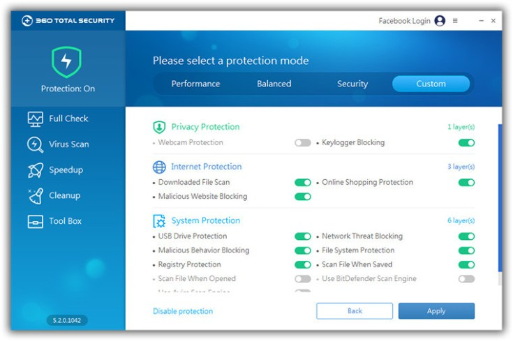 360 Total Security 6.6.1.1024 - Neowin
