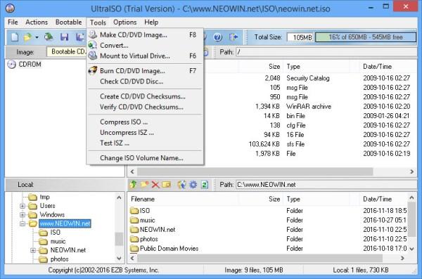 UltraISO Premium Edition 9.6.6.3300 - Neowin