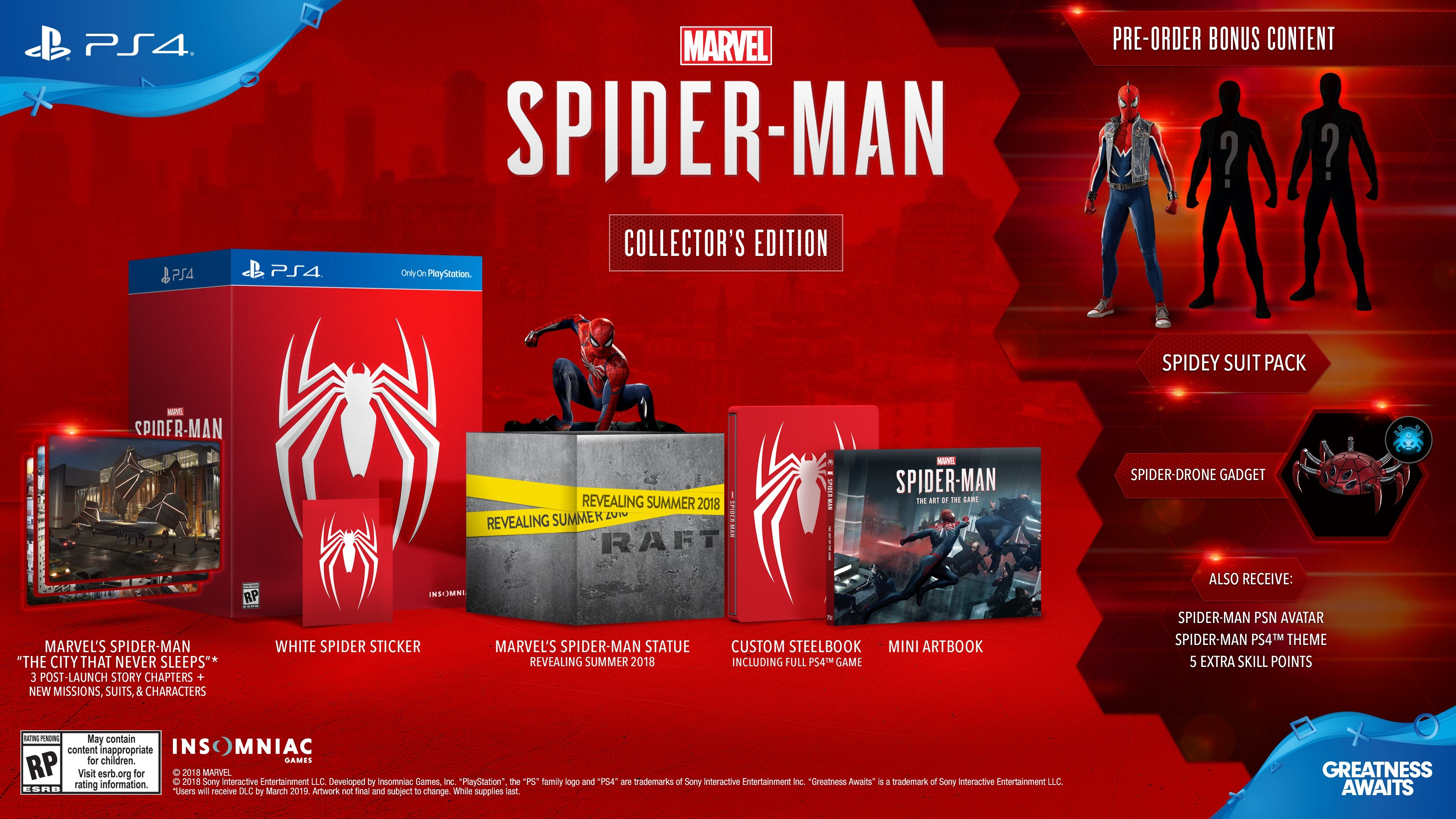 Insomniacs Spider Man Releases September 7 On PS4 With