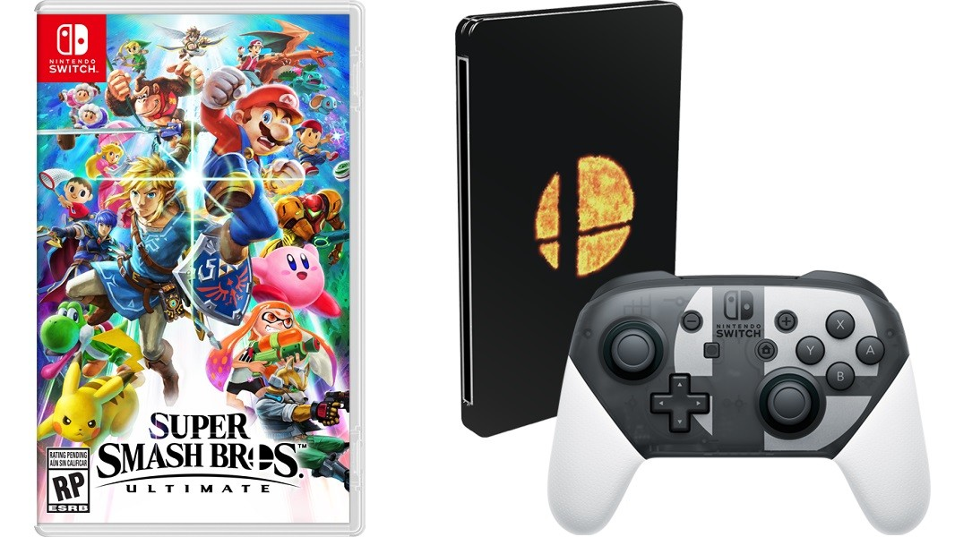 Nintendo announces a Super Smash Bros  Ultimate Pro Controller for     Earlier this month  Nintendo revealed a limited edition bundle for Super  Smash Bros  Ultimate  which included the special edition GameCube  controller