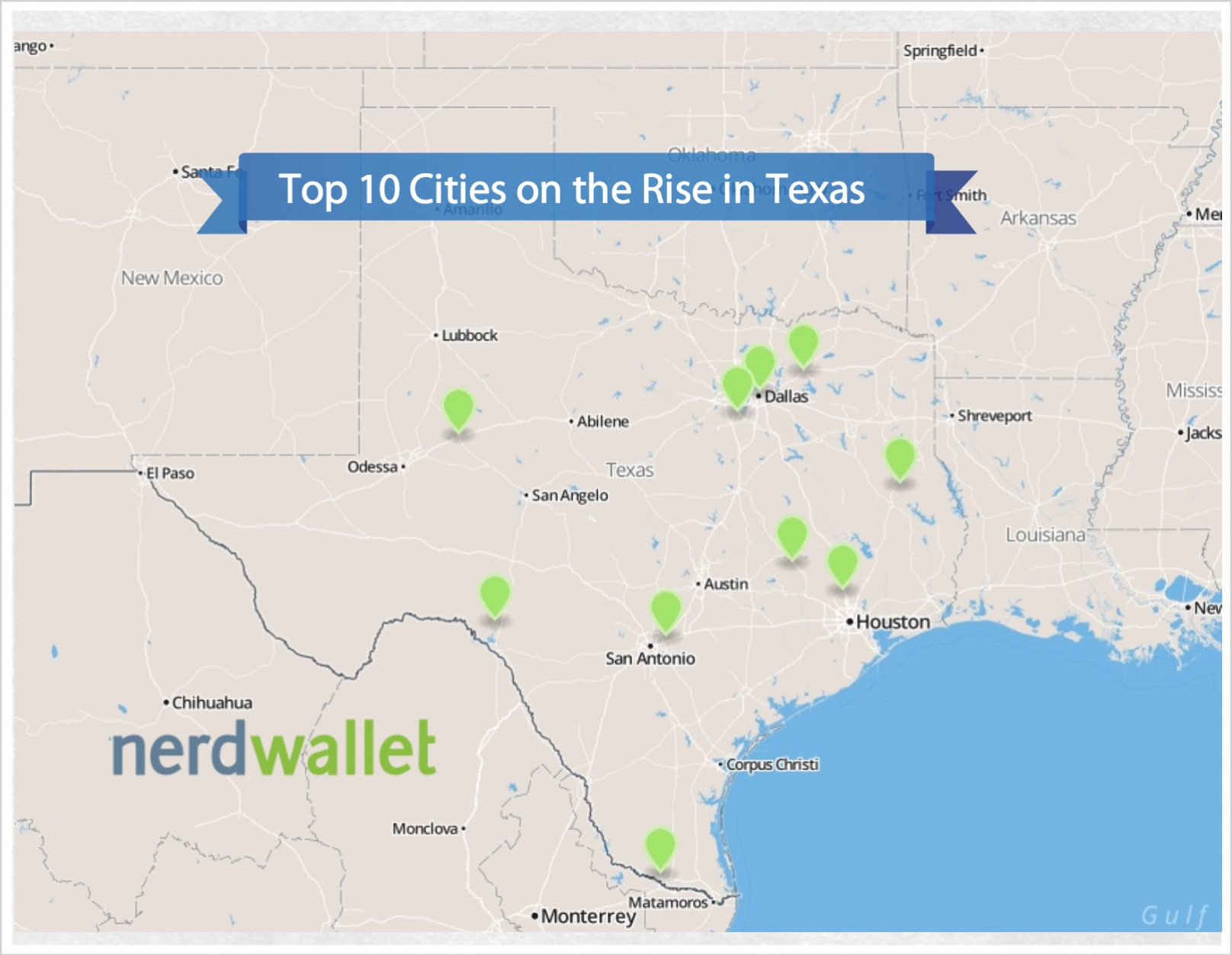 Cities on the Rise in Texas