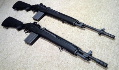 A pair of Norinco M305 M14 clones.