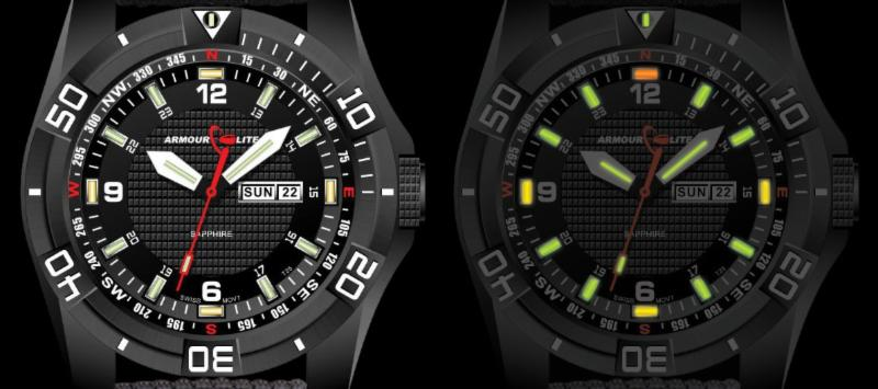ArmourLite Navigator Diver Series watch
