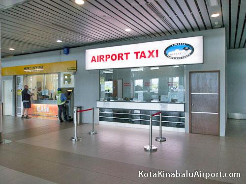 Kota Kinabalu Airport Taxi Counter