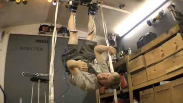 Inventor Colin Furze becomes real-life Magneto and walks ...